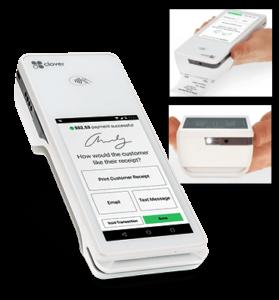 clover flex handheld point of sale device